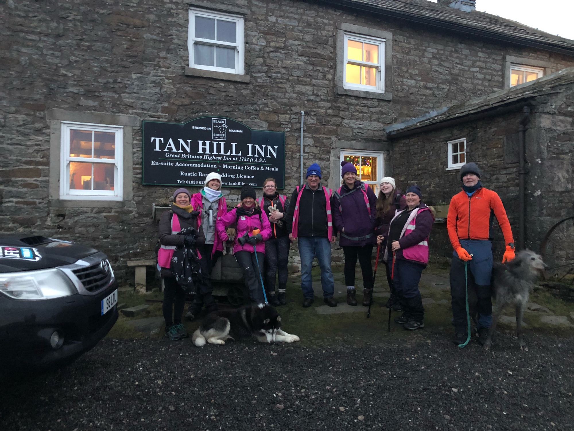 Relive 'Day 26 Reeth to Tan Hill 14 miles 6 5 hours walking